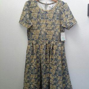Lularoe Amelia dress, size 2XL, NWT